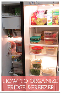 How To Edit and Organize Your Fridge and Freezer